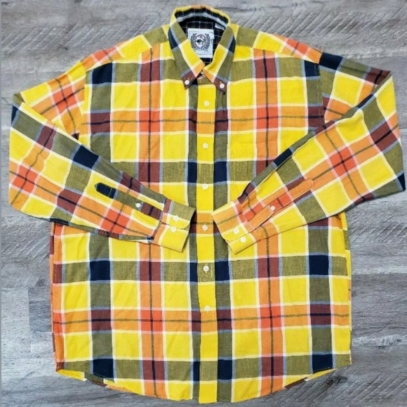 Cinch Other - Cinch Mens Shirt Button Down Long Sleeve Plaid